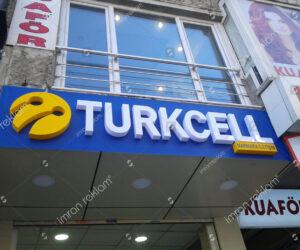 Turkcell Kutu Harf Tabelalar